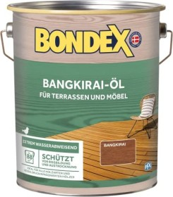 Bondex Bangkirai-Öl Holzschutzmittel, 4l (329611)