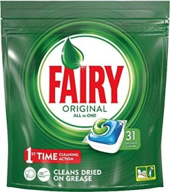 Fairy Original All-In-One Tabs, 31 pieces