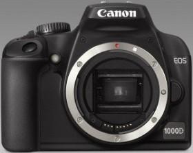 Canon EOS 1000D schwarz mit Objektiv Fremdhersteller