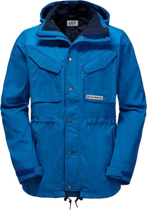 super service Infos für Bestbewertet authentisch Jack Wolfskin Bronco Jacket classic blue (men)   Skinflint ...