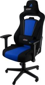 Nitro Concepts E250 Gamingstuhl, schwarz/blau (NC-E250-BB)