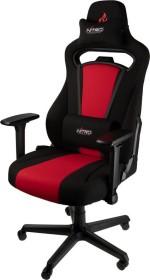 Nitro Concepts E250 Gamingstuhl, schwarz/rot (NC-E250-BR)