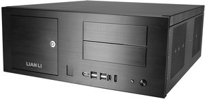 Lian Li PC-C34BF muse black, aluminum