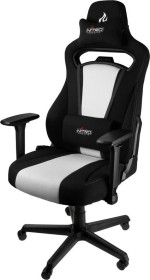 Nitro Concepts E250 Gamingstuhl, schwarz/weiß (NC-E250-BW)