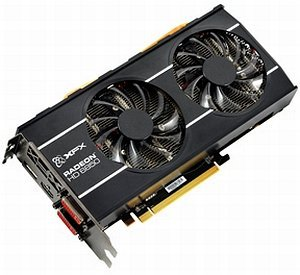XFX Radeon HD 6850 775M Dual Fan, 1GB GDDR5, 2x DVI, HDMI, DisplayPort (HD-685X-ZDFC)