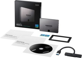 Samsung SSD 840 EVO - Laptop upgrade kit - 500GB, SATA (MZ-7TE500LW)