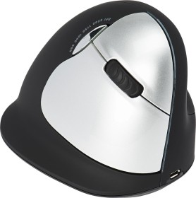 R-Go HE Mouse Large right vertical mouse wireless, USB (RGOHELAWL)