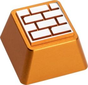 Zomoplus Aluminium Keycap Battle City Ziegelwand, gold/weiß (0759663285025)