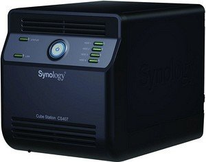 Synology Cube station CS-407, 1x Gb LAN