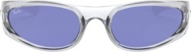 Ray-Ban RB4332 57mm transparent-white/blue classic (RB4332-648580)