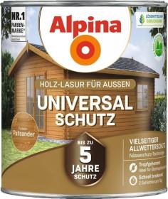Alpina Farben Universal-Schutz Holz-Lasur außen Holzschutzmittel palisander, 4l