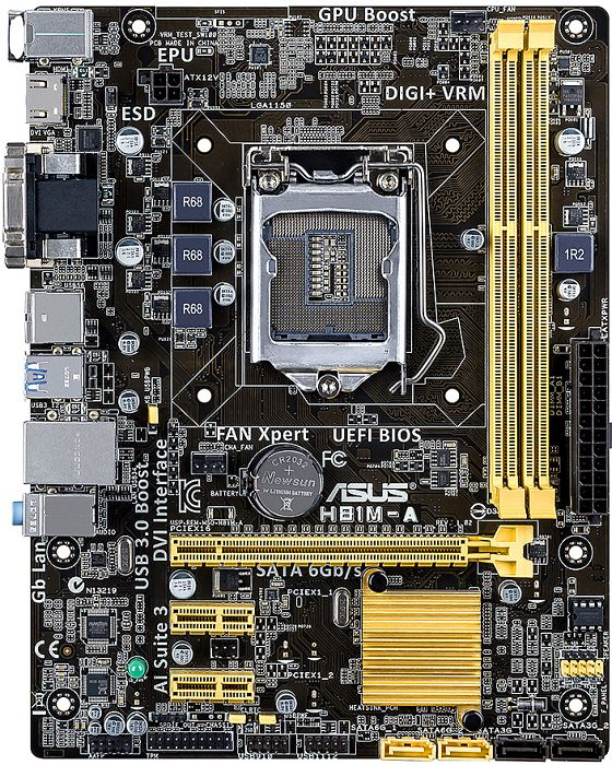 ASUS H81M-A (90MB0GG0-M0EAY0)