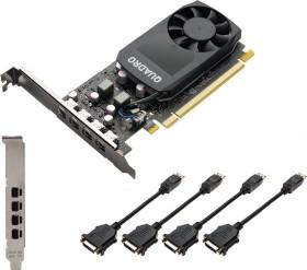 PNY Quadro P1000 DVI V2, 4GB GDDR5, 4x mDP (VCQP1000DVIV2-PB)