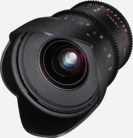 Samyang 20mm T1.9 ED AS UMC for Canon EF black