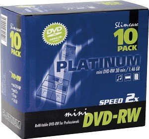 BestMedia Platinum DVD-RW 1.4GB 2x, 10-pack Slimcase (100307)