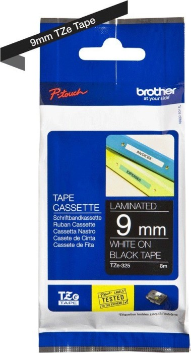 Brother TZ-325/TZe-325 9mm biały/czarny -- via Amazon Partnerprogramm