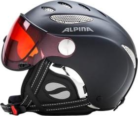 Alpina Jump JV Quattroflex Helm schwarz matt