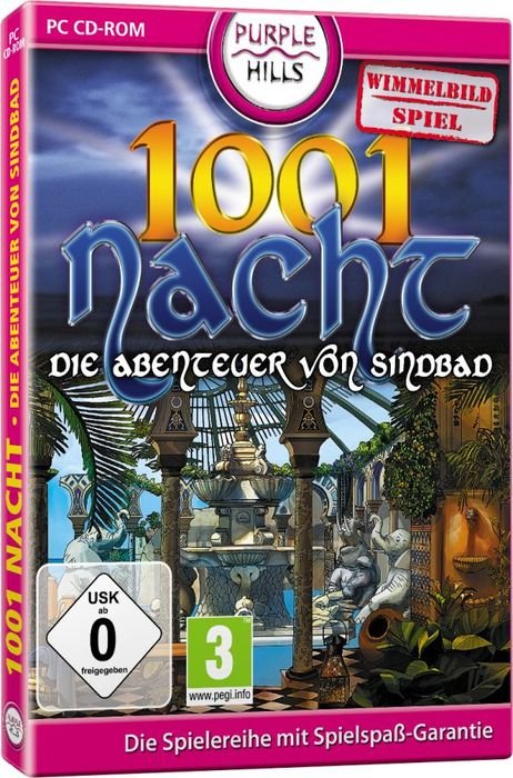 1001 night - Die adventure of Sindbad (German) (PC)