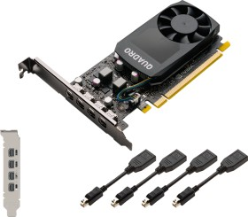 PNY Quadro P620 V2, 2GB GDDR5, 4x mDP (VCQP620V2-PB)