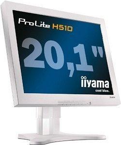 """iiyama ProLite H510-W, 20.1"""", 1600x1200, analogowy/cyfrowy"""