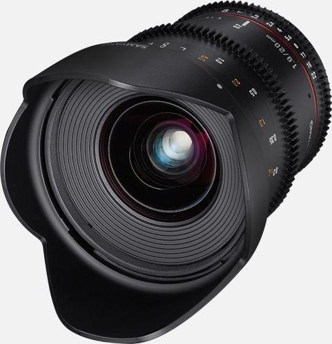 Samyang 20mm T1.9 ED AS UMC für Fujifilm X schwarz