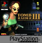 Tomb Raider III Platinum (PS1)