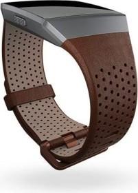 Fitbit Ersatzarmband Leder Small für Ionic cognac (FB164LBDB-S)