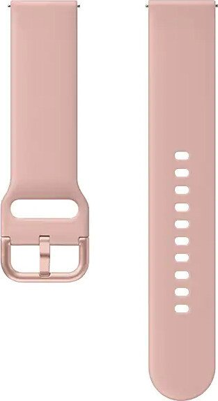 Samsung Sport Band 20mm für die Galaxy Watch Active 2 pink gold (ET-SFR82MPEGWW)