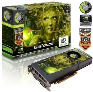 Point of View GeForce GTX 470 TGT Ultra Charged, 1.25GB GDDR5, 2x DVI, Mini HDMI (TGT-470-A1-1280-UC)