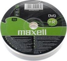 Maxell DVD+R 4.7GB, 10er-Pack -- via Amazon Partnerprogramm