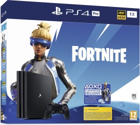 Sony PlayStation 4 Pro - 1TB Fortnite Neo Versa Bundle schwarz (9941002)