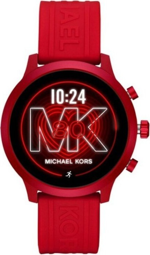 Michael Kors Access MKGO mit Silikonarmband rot (MKT5073) -- via Amazon Partnerprogramm