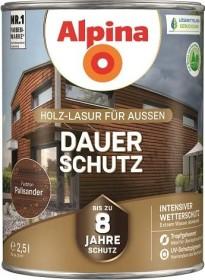 Alpina Farben Dauer-Schutz Holz-Lasur außen Holzschutzmittel palisander, 2.5l