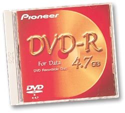 Pioneer DVS-RP470SDF DVD-R Data 4.7GB, do nadruku