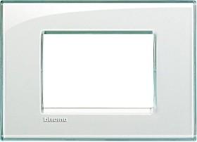 Bticino Livinglight Abdeckrahmen 1-fach, aquamarin (LNA4803KA)