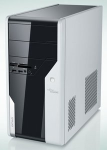 Fujitsu Amilo desktop Pi3630, Core 2 Quad Q8200 4x 2.33GHz, 4GB RAM, 640GB, Windows Vista Home Premium (GER-101108-001)
