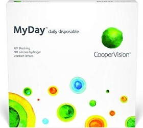 Cooper Vision Myday daily disposable, +3.00 Dioptrien, 90er-Pack