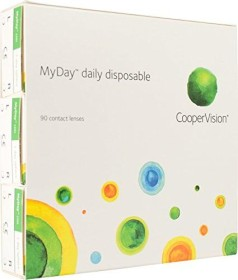 Cooper Vision Myday daily disposable, +3.50 Dioptrien, 90er-Pack