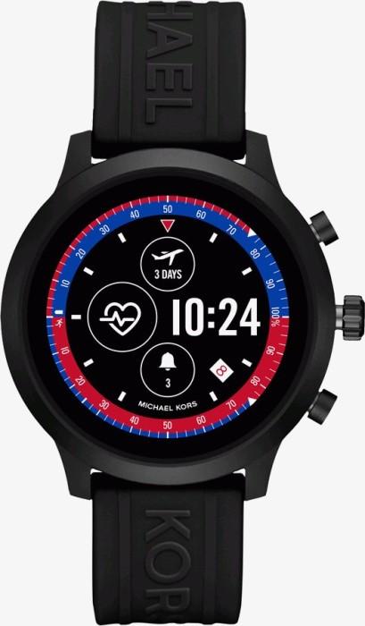 Michael Kors Access MKGO mit Silikonarmband schwarz (MKT5072) -- via Amazon Partnerprogramm