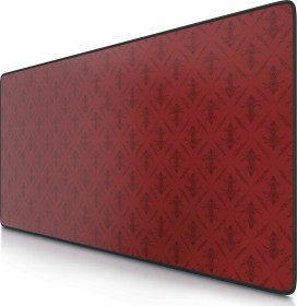 CSL-Computer Poker Pattern XXL Speed Gaming-mousepad, black/red