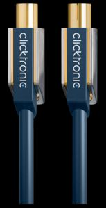 Clicktronic advanced coaxial coaxial cable 5m (70603)