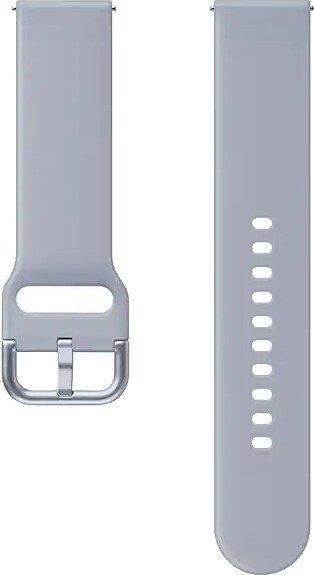 Samsung Sport Band 20mm für die Galaxy Watch Active 2 cloud silver (ET-SFR82MSEGWW)
