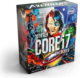 Intel Core i7-10700K Avengers Edition, 8C/16T, 3.80-5.10GHz, boxed ohne Kühler (BX8070110700KA)