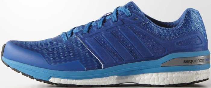 adidas Supernova Sequence Boost 8 bluesolar blue (men) (B34589) from £ 73.19
