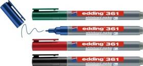 edding 361 Whiteboardmarker sortiert, 4er-Pack (4-361-4)