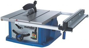 Metabo TS250 table circular saw with/without base frame (various types)