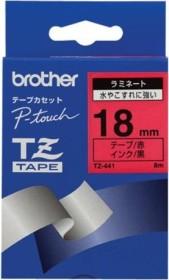 Brother TZe-441 18mm, schwarz/rot (TZE441)