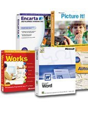 Microsoft: Works Suite 2003 OEM/DSP/SB CD (angielski) (PC)