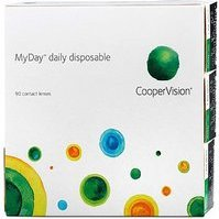 Cooper Vision Myday daily disposable, +7.50 Dioptrien, 90er-Pack