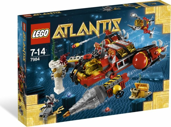 LEGO - Atlantis - Deep Sea Raider (7984) -- via Amazon Partnerprogramm
